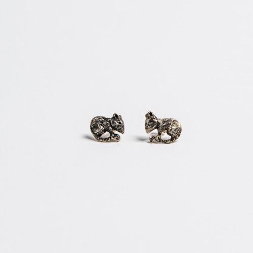 Unique Silver Earrings